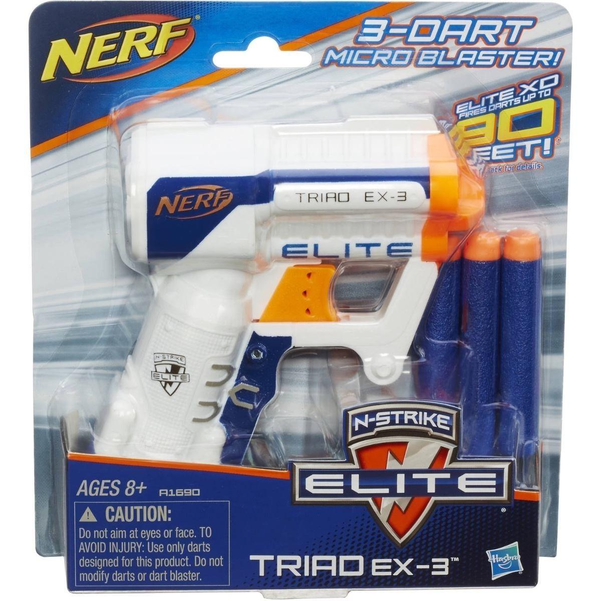 689cd6498e lançador nerf n strike elite triad- a3845 hasbro. Carregando zoom.