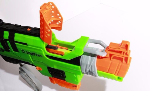 lançador nerf zombie strike slingfire hasbro a8773