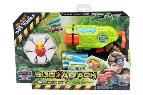 lançador x shot bug attack predator candide