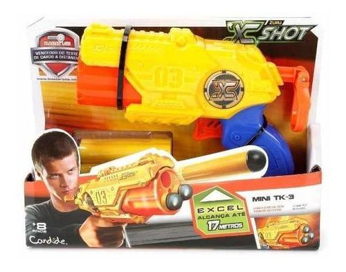 lançador x-shot excel series short mini tk3 candide