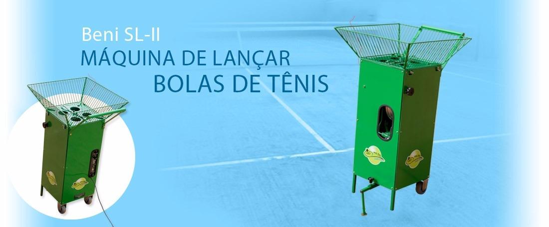 Lançadora De Bolas De Tenis - R  3.860 2098d4ded9c94