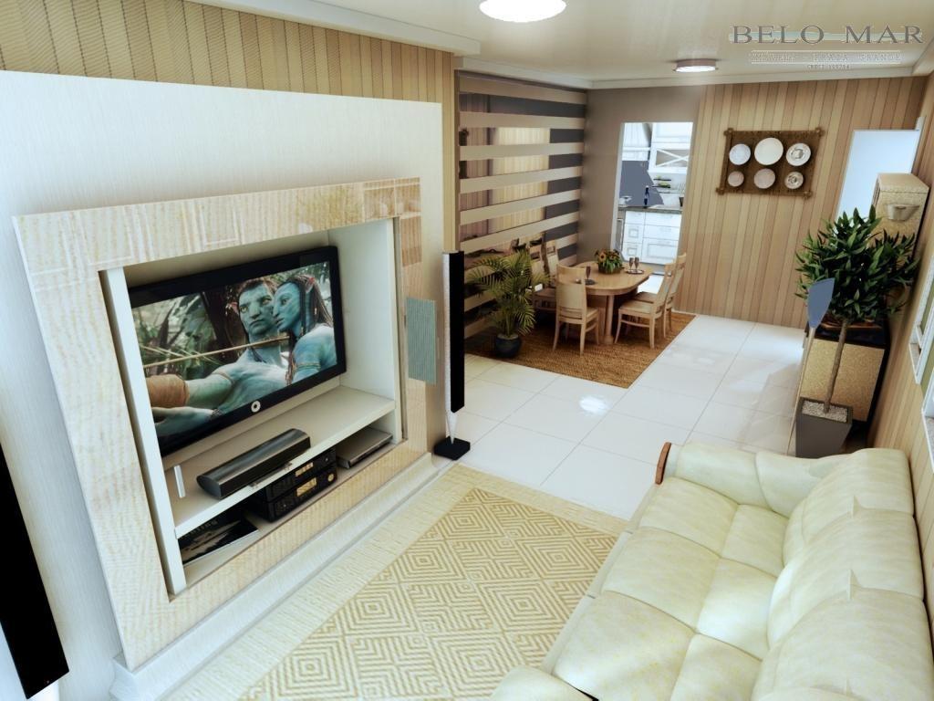 lançamento apartamento residencial à venda, boqueirão, praia grande. - codigo: ap0720 - ap0720