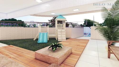 lançamento apartamento residencial à venda, canto do forte, praia grande. - codigo: ap0709 - ap0709