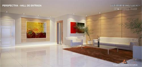 lançamento apartamento residencial à venda, canto do forte, praia grande. - codigo: ap0717 - ap0717