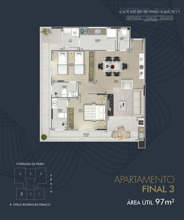 lançamento apartamento residencial à venda, canto do forte, praia grande. - codigo: ap0723 - ap0723