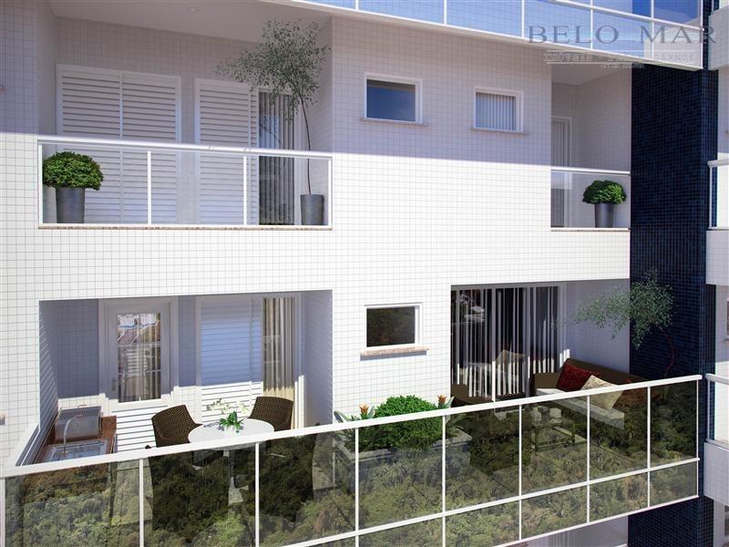 lançamento apartamento residencial à venda, canto do forte, praia grande. - codigo: ap0725 - ap0725