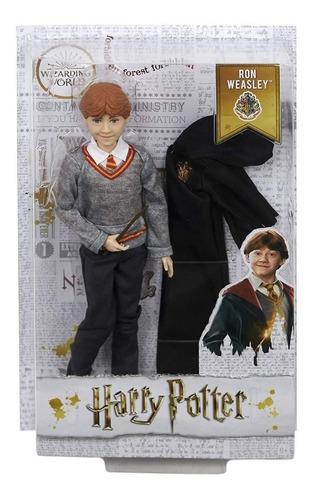 lançamento boneco ronald weasley ron  harry potter  mattel