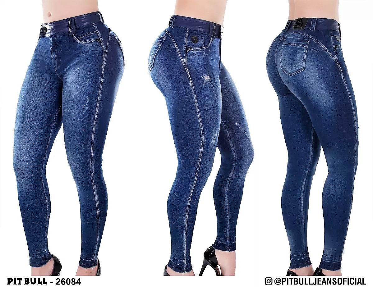 525d6a251 lançamento calça feminina jeans pitbull pit bul ref 26084. Carregando zoom.