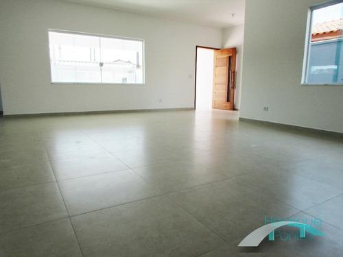 lançamento! casa nova lado praia, alto padrão, piscina, área gourmet, 3 dormitórios - flórida - peruíbe/sp - ca00336 - 32595132