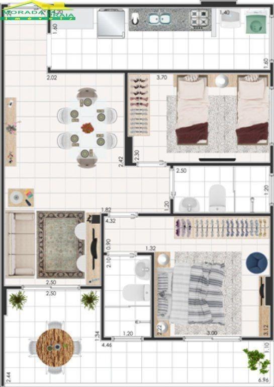 lançamento de 2 dormitórios sendo 1 suíte, financiamento bancário! só na imobiliária em praia grande - mp7252