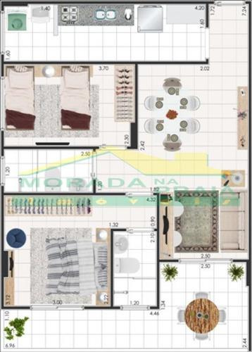 lançamento de 2 dormitórios sendo 1 suíte, financiamento bancário! só na imobiliária em praia grande - mp7253