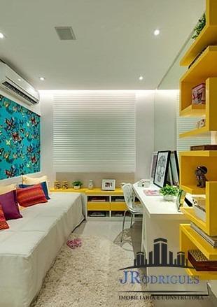 lançamento de apartamento 03 suítes no setor marista 121 m²