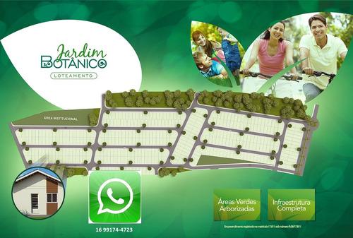 lançamento de lotes em serra azul no jardim botanico, 200 m2, com infra estrutura completa e ares verdes arborizadas. parcelado em ate 180x - te00178 - 33501740