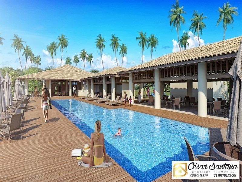 lançamento exclusivo - lote 450m² - residencial natus - terreno vista mar - te00017 - 33760461