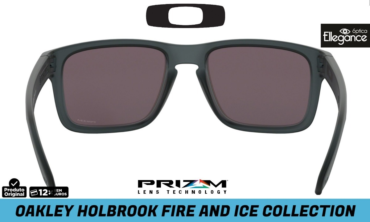 3d254bf9ec lançamento oakley holbrook - fire and ice collection - prizm. Carregando  zoom.