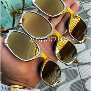 22dd2cc2721e6 Lançamento Oakley Juliet 24k Double X Penny Brilho Reto - R  135