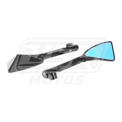 lançamento pelicula azul para retrovisores carros e moto top