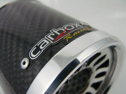 lançamento ponteira turbo fibra de carbono carbox racing
