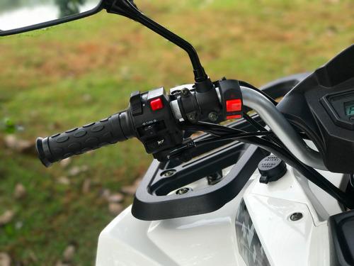 lançamento quadriciclo 200cc 4x2 câmbio automático cvt