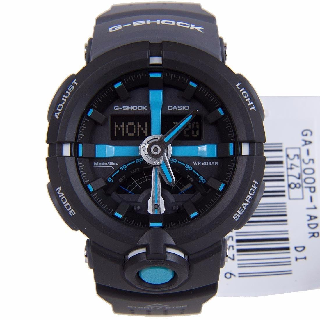7625e2ca9bc Lançamento Relógio Casio G-shock Ga-500p-1a Garantia 2 Anos - R  629 ...