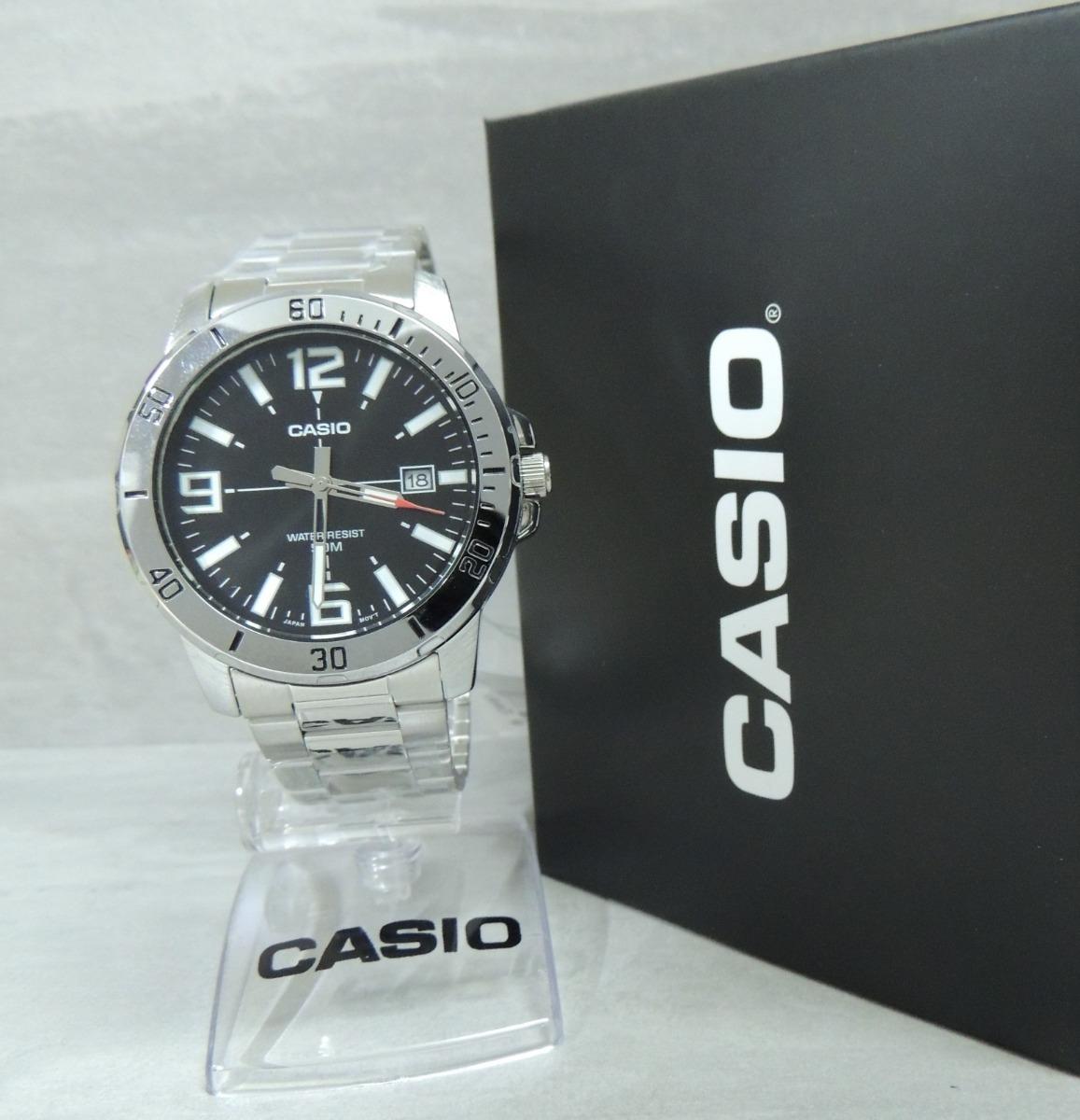 12bed9f883f lançamento relógio casio masculino - mtp-vd01d-1bvudf - nf. Carregando zoom.
