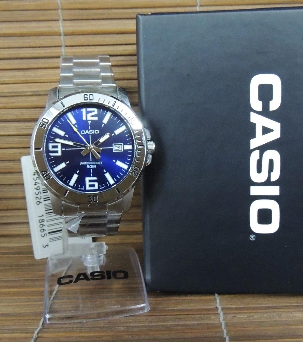 a96637efe09 lançamento relógio masculino casio mtp-vd01d-2bvudf (nf). Carregando zoom.