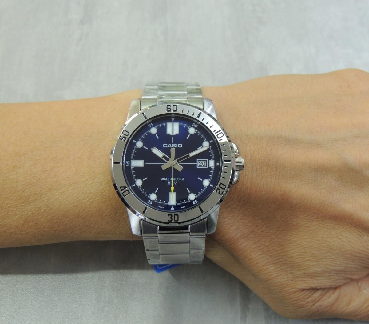 acf6a9fe3e8 lançamento relógio masculino casio mtp-vd01d-2evudf (nf). Carregando zoom.