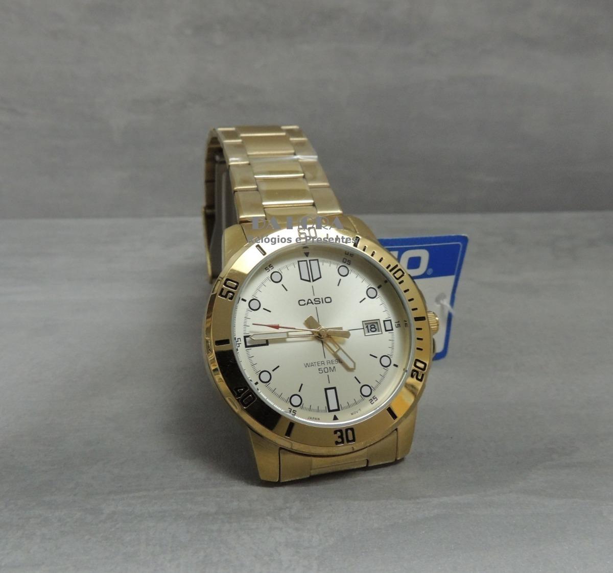 6f730c50c68 lançamento relógio masculino casio mtp-vd01g-9evudf (nf). Carregando zoom.