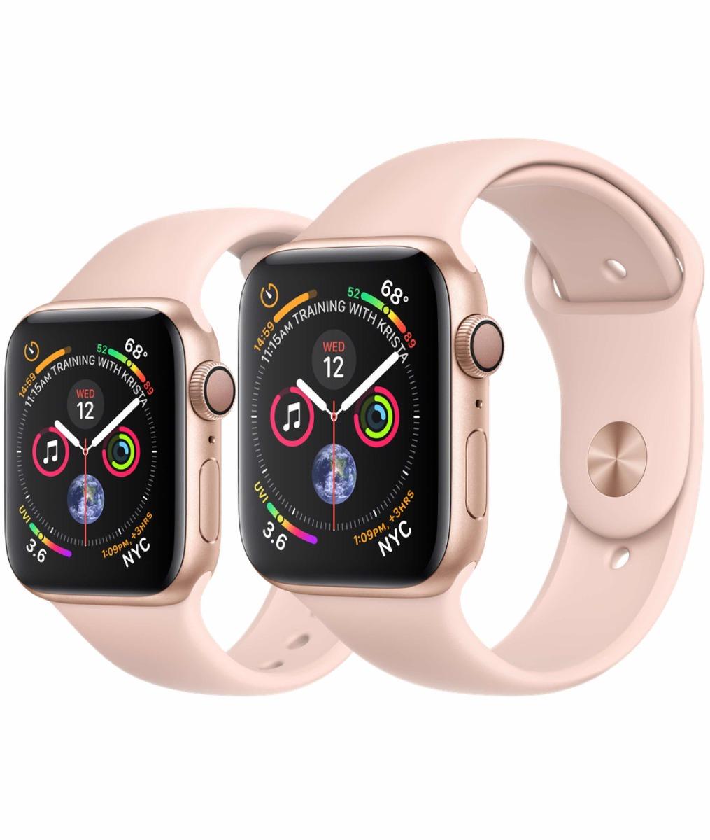 f51039b582e lançamento relógio watch apple s4 série 4 gold 40 gps. Carregando zoom.