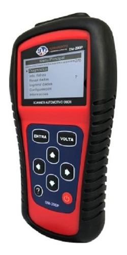 lançamento scanner automotivo obdii em português dm-290p