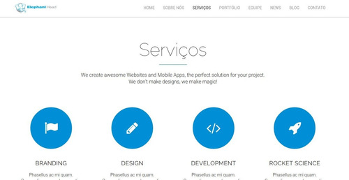 lançamento site empresarial responsivo administrável + blog