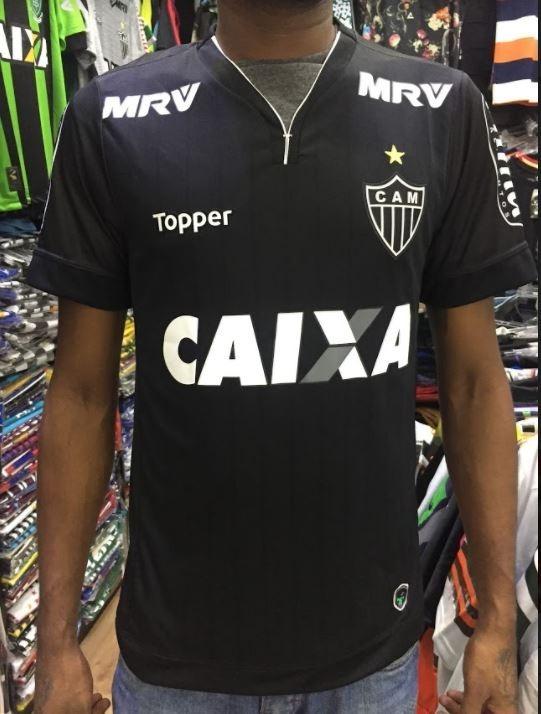 64a1d50305 Lançamento Terceira Camisa Atlético Mg Sócio Torcedor 2018 - R  91 ...