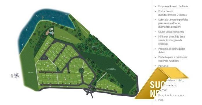 lançamento terrenos condomínio na represa - 2830