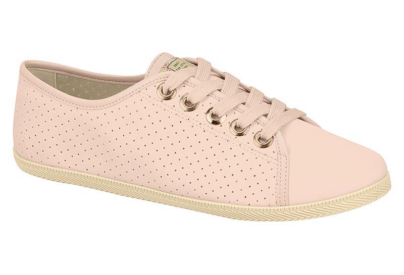 53c3332088 lançamento tênis casual feminino moleca baixinho rosa couro. Carregando zoom .