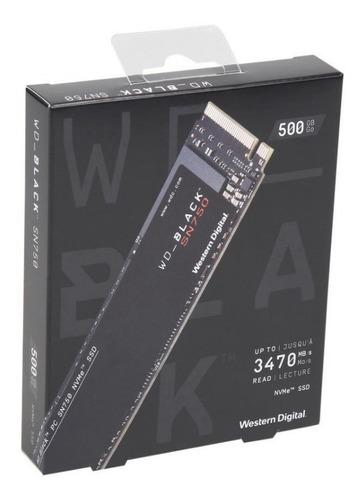 *lançamento* wd black sn750 ssd m.2 2280 500gb pcie nvme