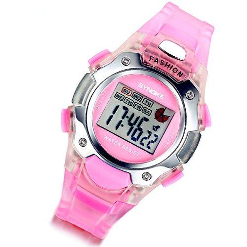 lancardo 3 pack azul / rosa / negro multifunción relojes di