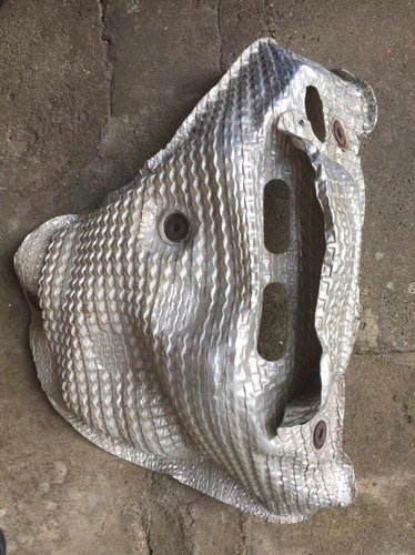 lancer evolution x - protetor de calor coletor (heat shield)