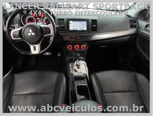 lancer sportback ralliart 2.0 turbo - 4x4- ano 2012 blindado