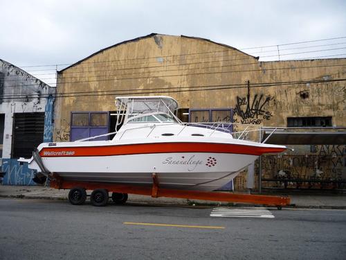 lancha 275 wa + 225 hp optimax - direto da fabrica