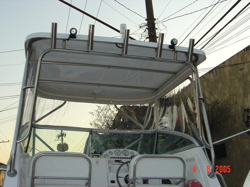 lancha 275 wa + 225 hp optimax + montagem básica