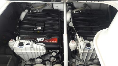 lancha 38 pes arthmarine arth 380 ano 2012 2 motores diesel