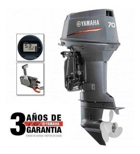lancha 3v 470 sport con motor yamaha 70hp 2t