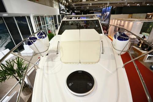 lancha 415 fortmarine motor 4.2 320hp diesel