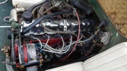 lancha 5,10mt garcia delfino motor falcon sprint /volvo 270
