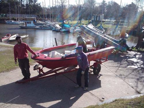 lancha abierta pescadora mercury 55hp sea pro