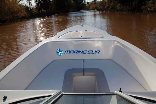 lancha acquamarine 5.30 parsun 60 hp