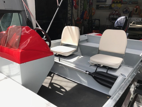 lancha aluminio polimarine 6 metros pesca