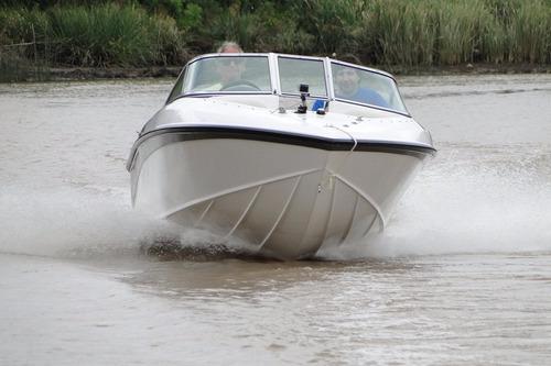 lancha amarinta 505 con evinrude 90 hp 2t 2018 nueva 0 hs