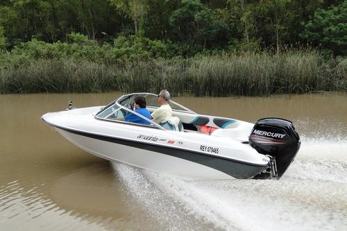 lancha amarinta 505 con mercury 90 hp 2 tiempos 2017 0 hs