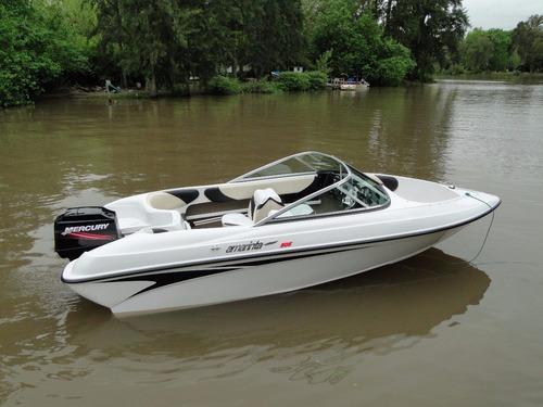 lancha amarinta 505 con mercury 90 hp 4t 2017 nueva 0 hs